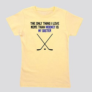 Hockey Sister Girl's Tee